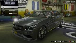 GTA5汽車模組-Mercedes-Benz E63 Brabus 850