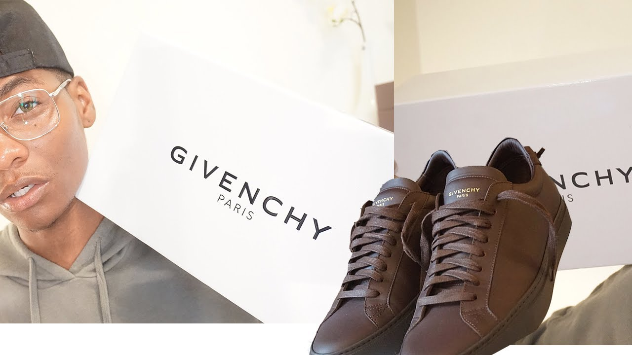 cb999a1c8 GIVENCHY URBAN STREET LOW 2017 SNEAKER REVIEW - YouTube