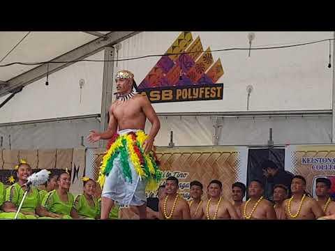 Tamaki College Samoan stage Polyfest 2018