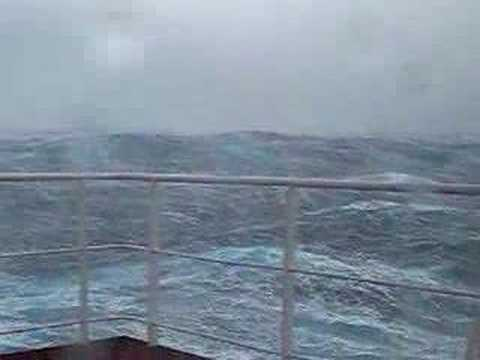 Storm in north atlantic