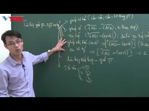 [Vted.vn] Tổng quan về các phương pháp liên hợp giải pt và bpt vô tỷ
