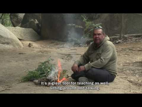 Adrian Brown on smoking ceremonies