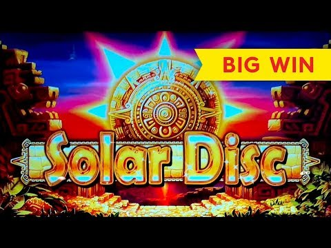 Solar Disc Slot - BIG WIN BONUS, AWESOME! - 동영상