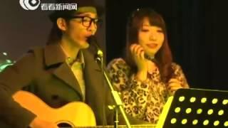 南拳妈妈前成员张杰上海livehouse个唱实录 与女歌迷合唱《牡丹江》