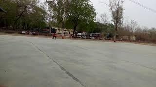 Road break on skating
