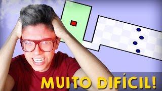 O JOGO MAIS DIFÍCIL DO MUNDO! - The World Hardest Game