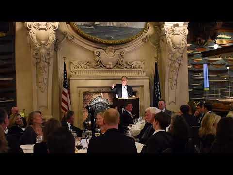 Terry Nathan, IYRS President at New York Yacht Club   February 22, 2018