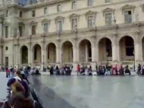 Masterpiece! Monalisa Portrait Inside Louvre Museum | Paris Tour Guide