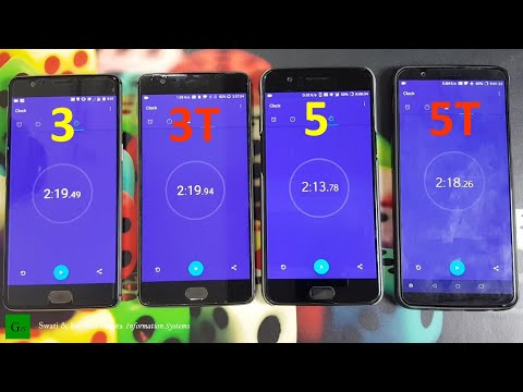 OnePlus 5T vs 5 vs 3T vs 3 Performance Check & Benchmark Comparison, Android 'Q 10.0' Update ???
