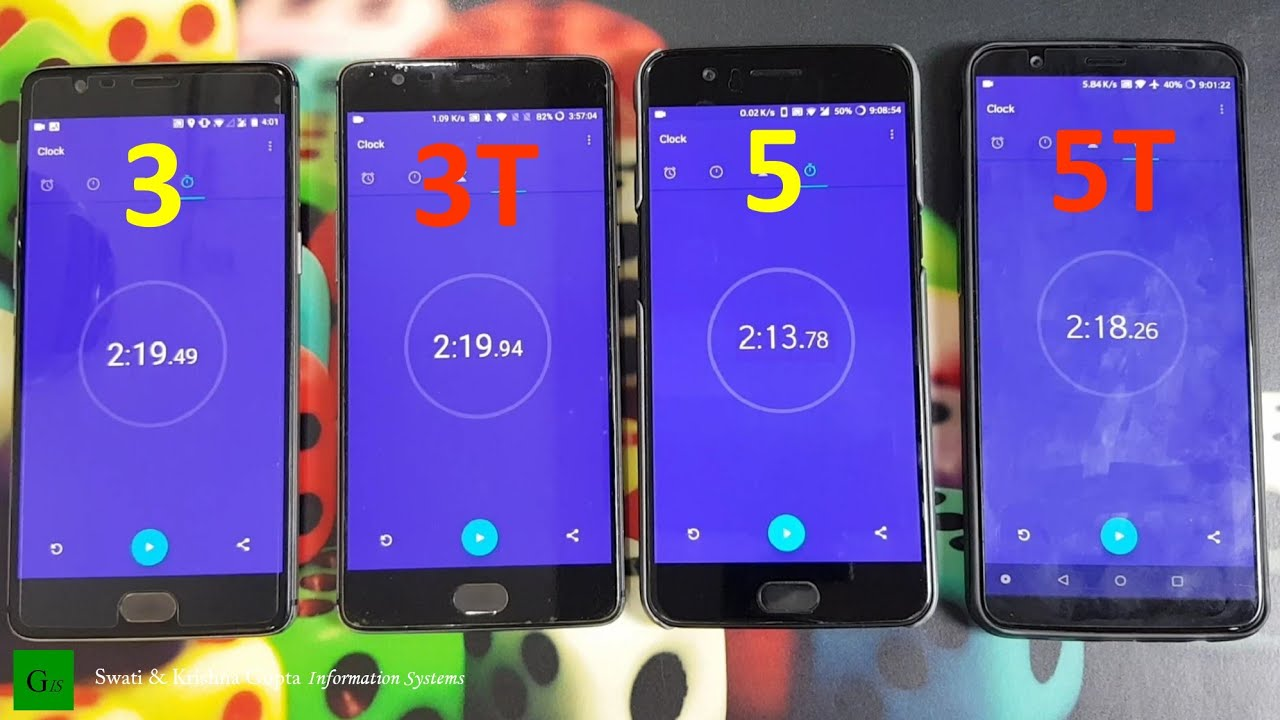 oneplus 5t vs 5 vs 3t vs 3 performance check benchmark comparison android 39 q 10 0 39 update. Black Bedroom Furniture Sets. Home Design Ideas