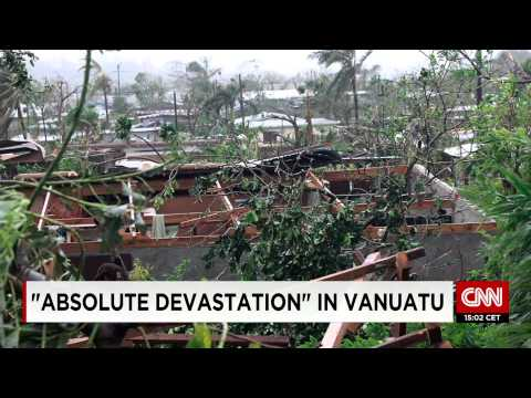 Vanuatu Weather - Red Cross latest after Cyclone Pam hits