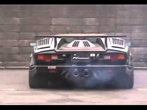 lamborghini countach engine sound and acceleration 1982 youtube. Black Bedroom Furniture Sets. Home Design Ideas