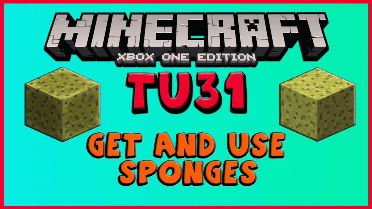 How to get and how to make a sponge in Maincraft