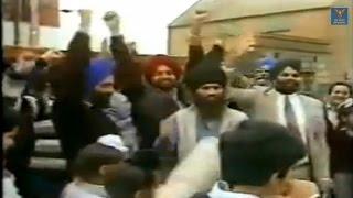Southall Sikhs Celebrate Indira Gandhi's Elimination 31st October 1984