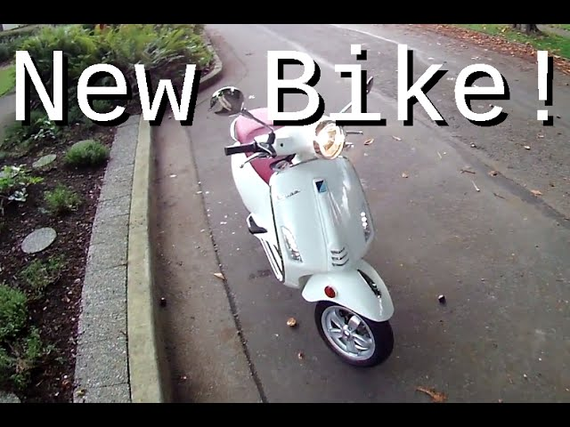 New Bike Review: Piaggio Vespa 50
