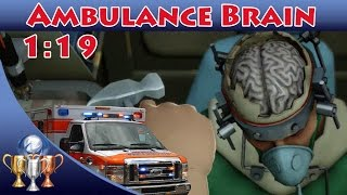 Surgeon Simulator [PS4] - Ambulance Brain Transplant (1:19) Brainstorm Trophy Guide