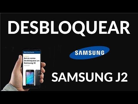 ¿Cómo Desbloquear un Samsung J2?