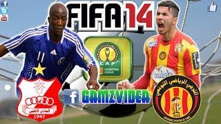 Fifa 14 CAF Ligne Al Ahli Benghazi - Esperance Tunis 2017 Video