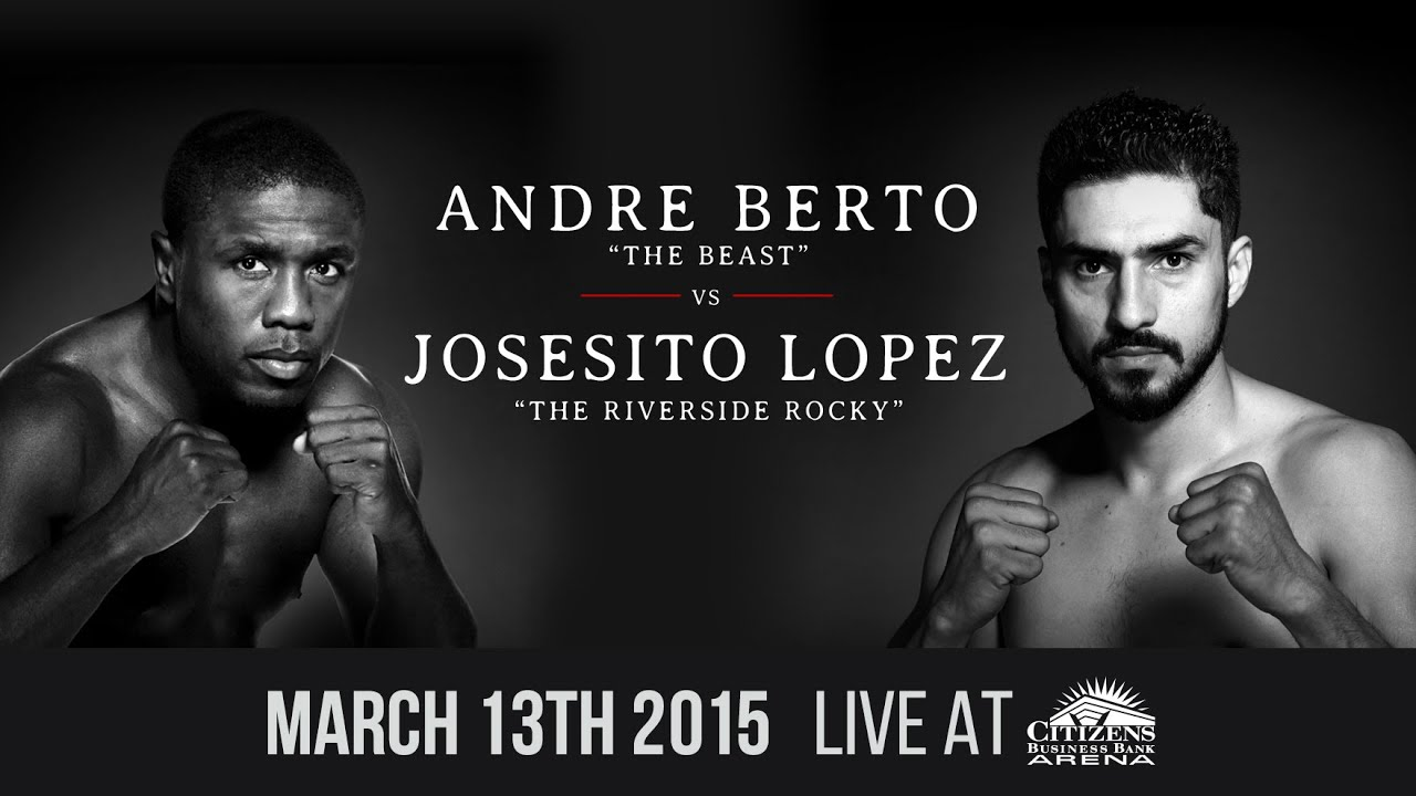 Berto vs Lopez and Porter vs Garcia - Fight Preview - Spike TV March 13, 2015