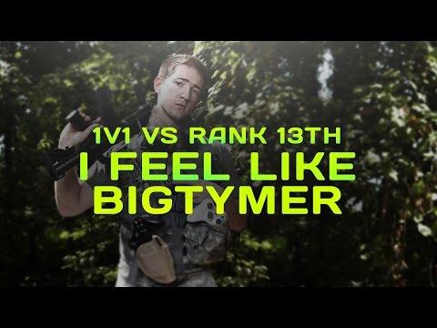 1v1 vs 13th RANK TEAM! I FEEL LIKE BIGT
