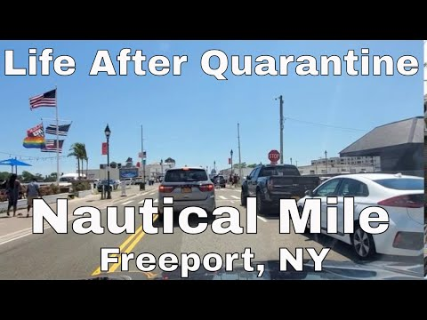 Life After Quarantine In Freeport, NY