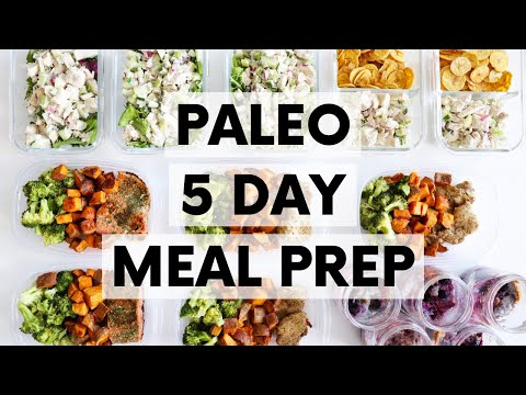 PALEO 5-DAY MEAL PREP