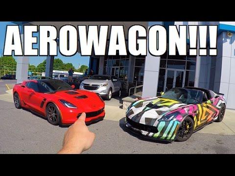 BUYING A Corvette AeroWagon!!!