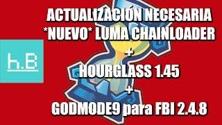 [ACTUALIZACIÓN] Luma Chainloader + Hourglass 1.45 + Godmode9 + FBI 2.4.8