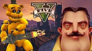 GTA 5 Mods: ФРЕДДИ ПРОТИВ СОСЕДА! #33