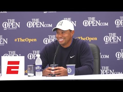 [FULL] Tiger Woods calls opportunity to play the Open Championship at Carnoustie a 'blessing' | ESPN