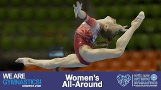 2019 Artistic Junior Worlds – Women's All-Around, Highlights – We are Gymnastics !