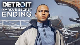 Markus Secret Ending (Markus Leaves Jericho Forever) - DETROIT BECOME HUMAN