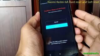 Xiaomi Redmi 6A Hard reset and Soft reset