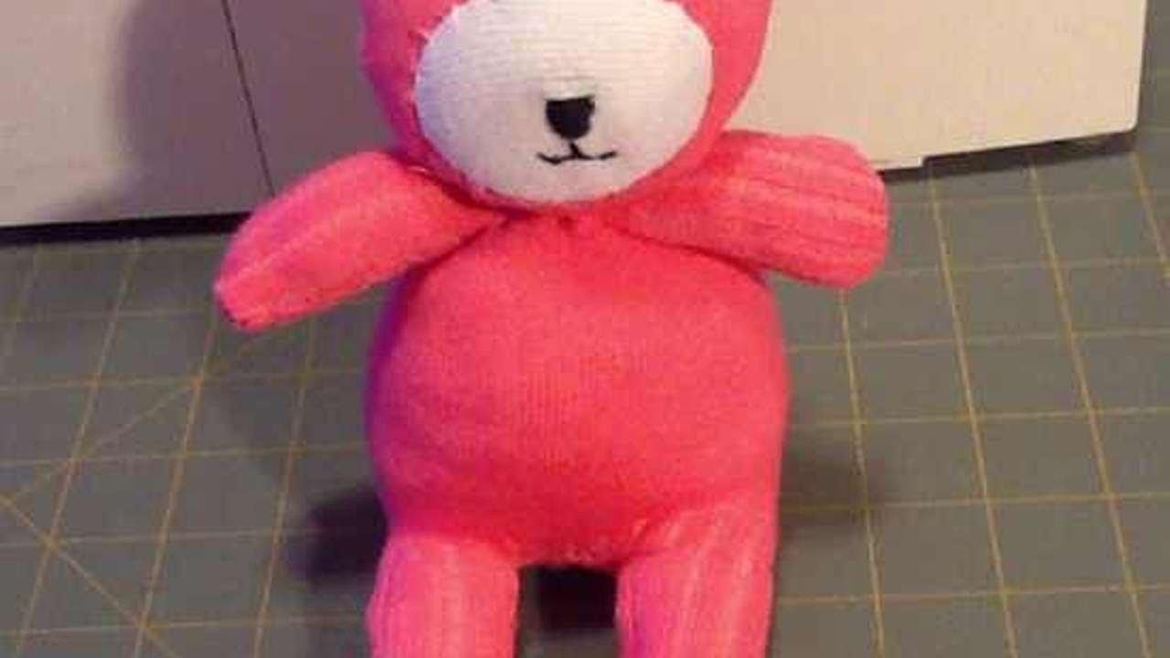 Einen Süßen Socken-Teddybär Machen - DIY Crafts - Guidecentral - YouTube