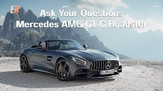 2018 Mercedes AMG GT  C Roadster - Ask your questions