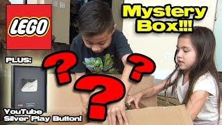 lego mystery box opening youtube silver play button partner reward 100 000 subscribers