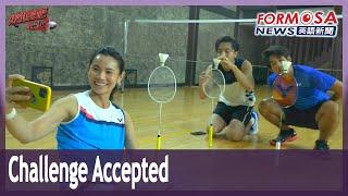 Ace shuttler Tai Tzu-ying plays celebrity challenger