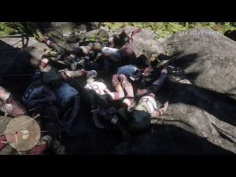 Red Dead Redemption 2 - Mass Grave Murder - Easter Egg #72 thumbnail