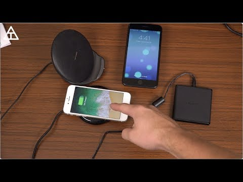 Download Youtube: iPhone 8, 8 Plus, and iPhone X Wireless Chargers!