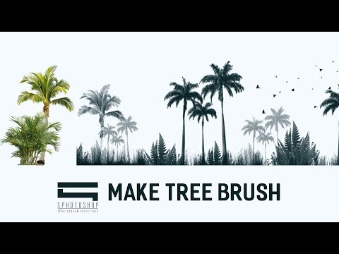 Make Tree Brush Photoshop Photoshop Architecture Youtube