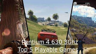 Top 5 New Games 2015 on Intel Pentium 4 630
