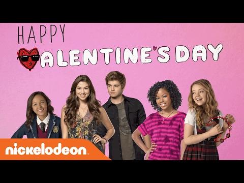 Valentine's Day Corny Cards w/ Kira Kosarin, Jack Griffo & More | Nick