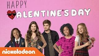 Valentine's Day Corny Cards w/ Kira Kosarin, Jack Griffo & More   Nick