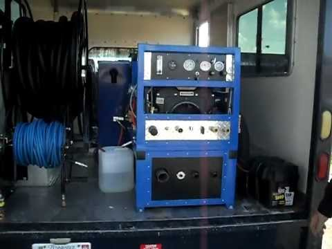 Chevy 3500 Box Truck Carpet Cleaning Truck For Sale Youtube