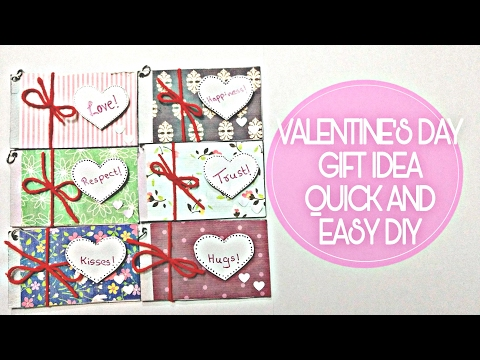 VALENTINE'S DAY DIY, LOVE COUPONS GIFT CARDS, Craft Guru