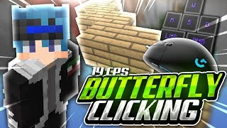 RUSHEANDO en HYPIXEL! | BUTTERFLY CLICK 14 CPS! | Mouse & Keyboard Sounds