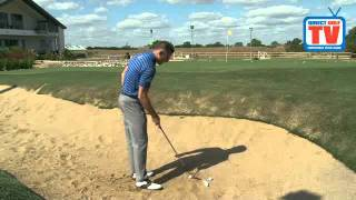 Direct Golf TV Golf Tips & Drills -  One Arm Bunker Drill