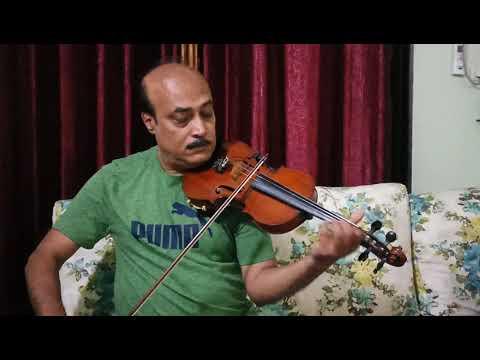 main-shayar-badnam-|-violin-cover-|-abhijit-mazumdar-|