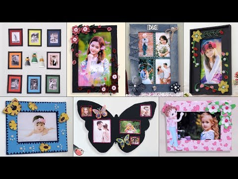 15 Crafty Photo Frame Ideas !!!