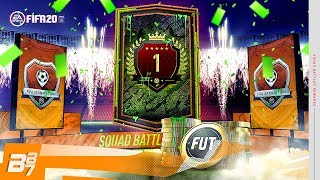 WOW! 1ST IN THE WORLD SQUAD BATTLES REWARDS! | FIFA 20 ULTIMATE TEAM